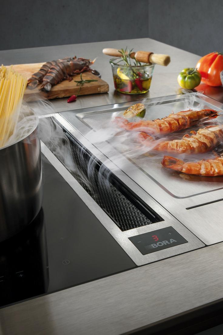 Beautiful BORA Kochfeldabzug Preis Leistung Reinigung und mehr zum Kochfeld mit Dunstabzug nach unten