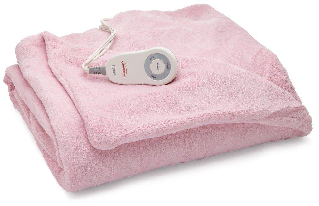 Sunbeam Microplush Heated Throw Pink Tsm8us R302 25a00 Heated Throw Blanket Heated Throw Cozy Cover
