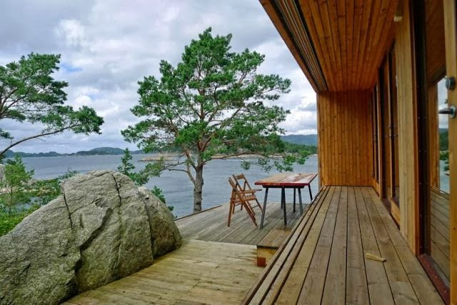 Amazing Norwegian cabin, located in Skåtøy in Bergen!