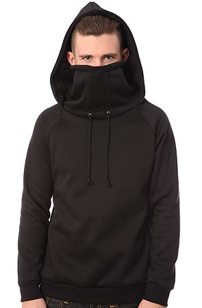 Kino Ninja Hoodie in Black Fleece (Made in the USA) by ARSNL use rep code   OLIVE for 20% off! af42d0b0af7a