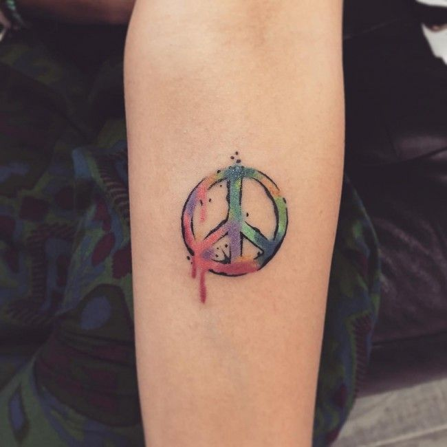 Peace Sign Tattoo With Regard To Tattoo Art Tattoo A To: - Yahoo Image Search Results