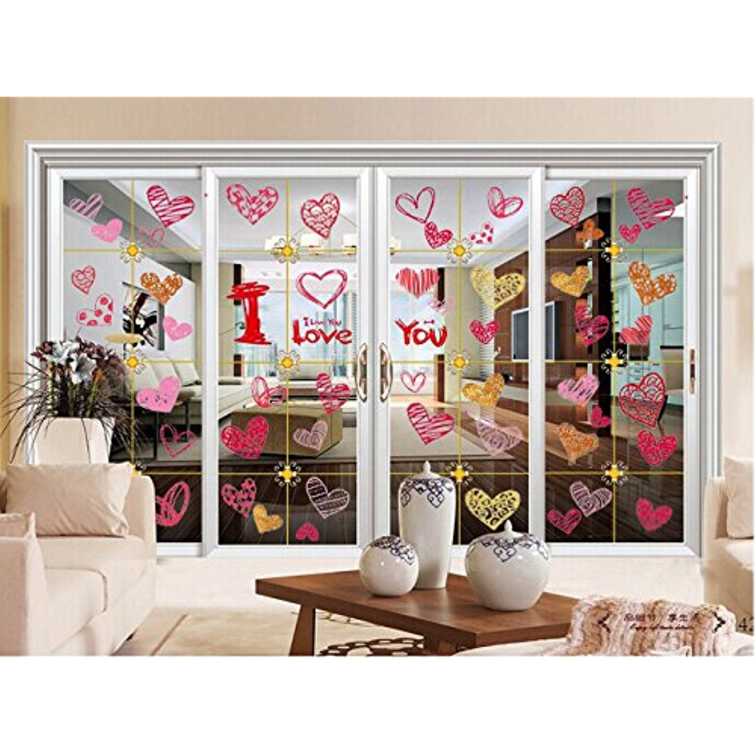 Raumaufkleber für mädchen window stickers wall decal door clings for party decoration  pcs
