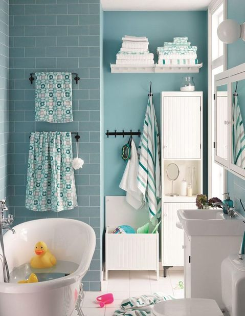 Salle de bains enfant nos inspirations pour une salle de bains sp ciale enfant elle - Deco salle de bain enfant ...