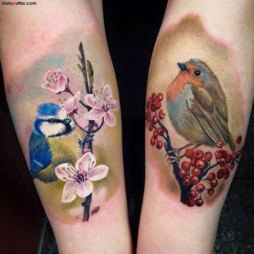 rotkehlchen tattoo