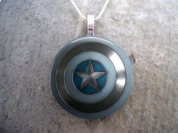 Captain America  The Winter Solider  Marvel by SolasJewelry, $10.00