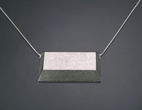 Large Horizontal Bar Necklace