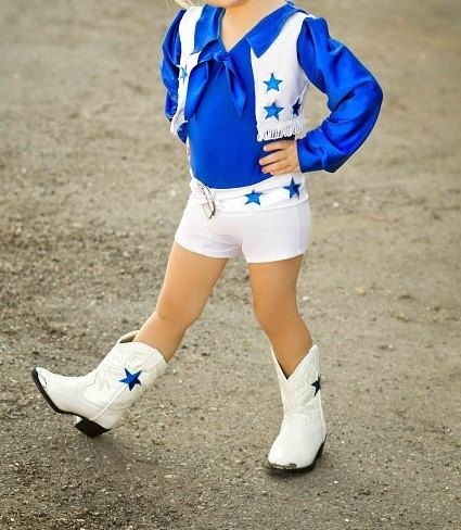 Dallas Cowboys Cheerleader Inspired Biketard. Dallas by SENDesigne c0570d0ab