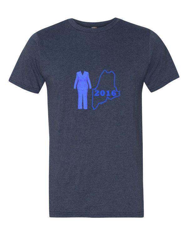 Hillary 2016 Maine T Shirt