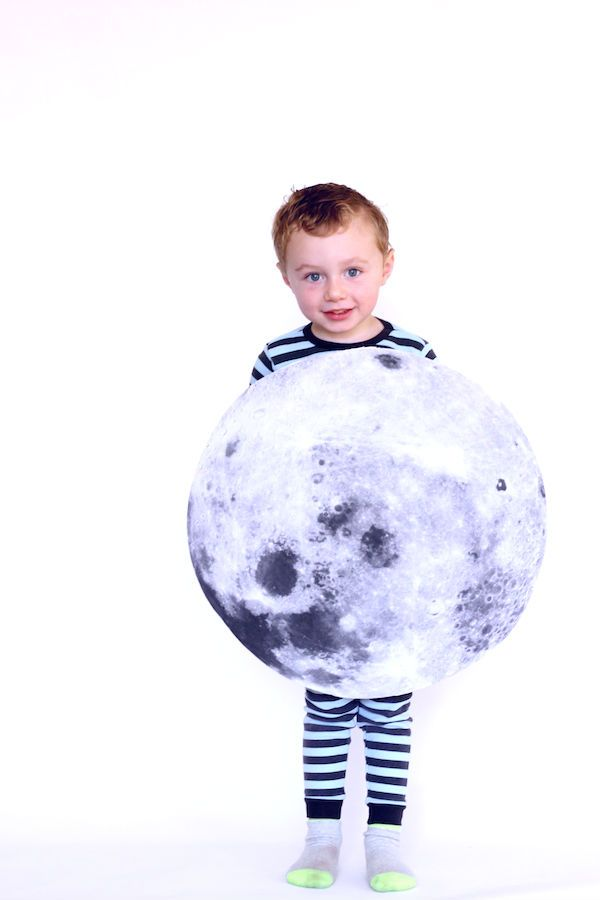 Moon Costume Cute Halloween Crafts