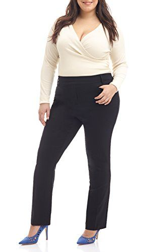 8d55e698b5c REKUCCI Curvy Woman Ease In To Comfort Straight Leg Plus ... https  . Visit
