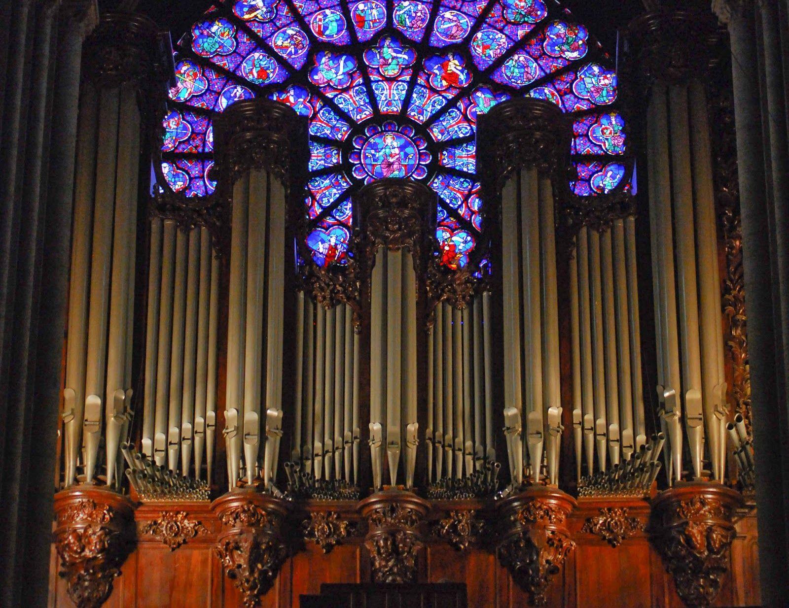 Image result for notre dame de paris organ