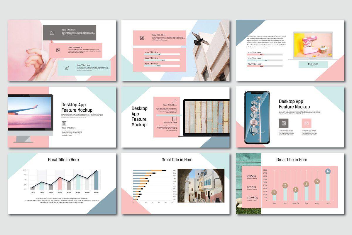 Madein Pastel Keynote | Free powerpoint templates download ...