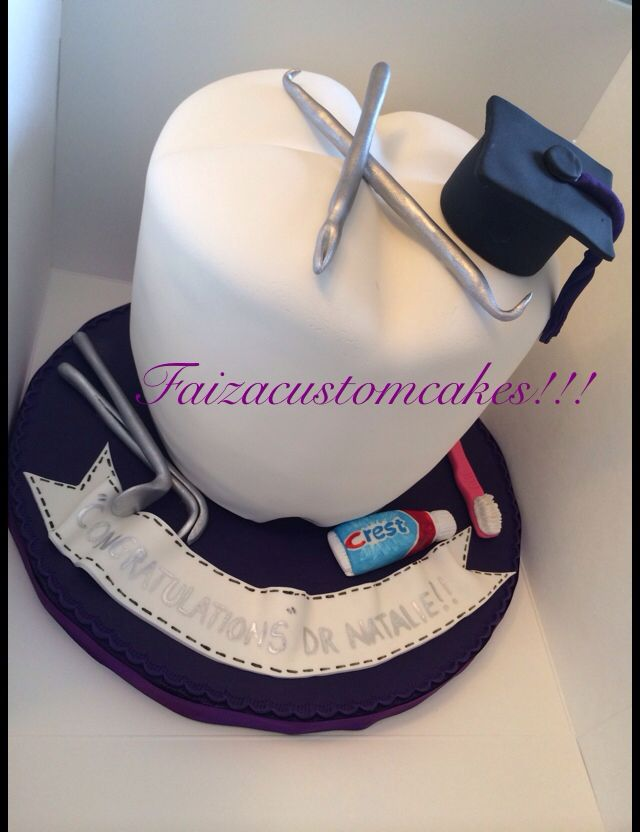 Dental Graduation Cake Dental Cake In 2018 Pinterest Dental