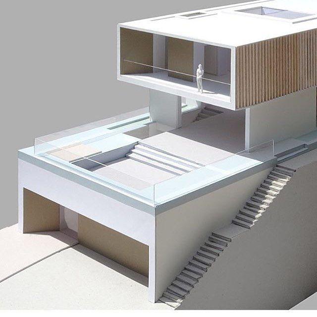Design house gongjakso pinterest maison design maison modulaire fa ade maison - Maison modulaire beton ...