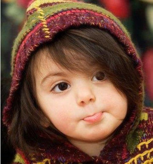 Baby Girl Wallpaper: Very Cute Baby...I Wish You Are Also