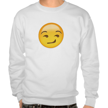 Smirking Face Emoji Pull Over Sweatshirts Emoji Sweatshirt Mens Sweatshirts Hoodie Sweatshirts