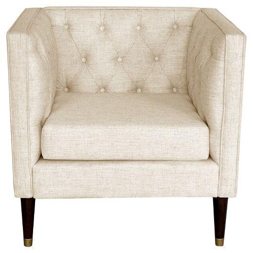Tufted Arm Chair Nate Berkus Target Tufted Arm Chair