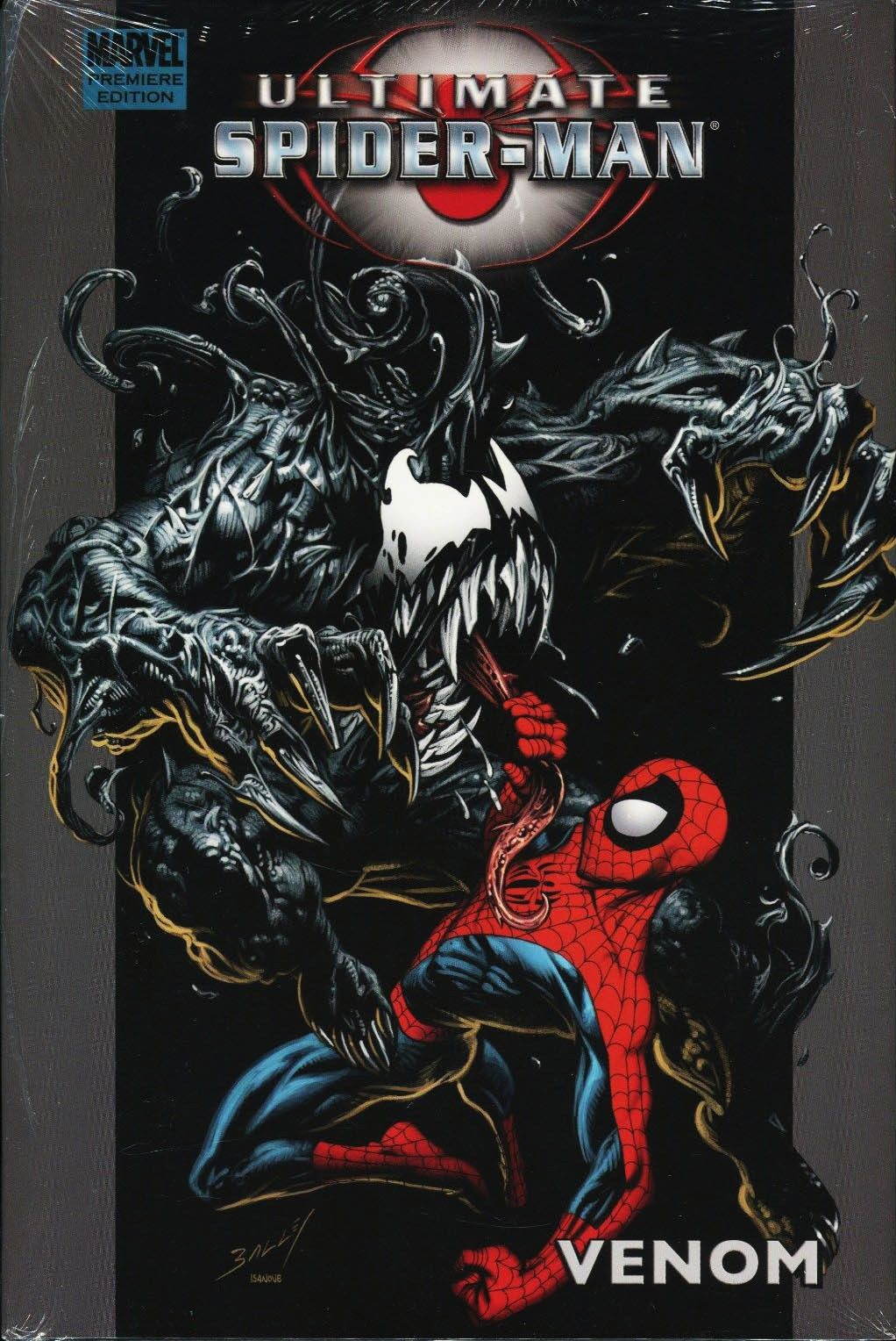 "travisellisor: ""the cover to ultimate spider-man premiere hardcover"