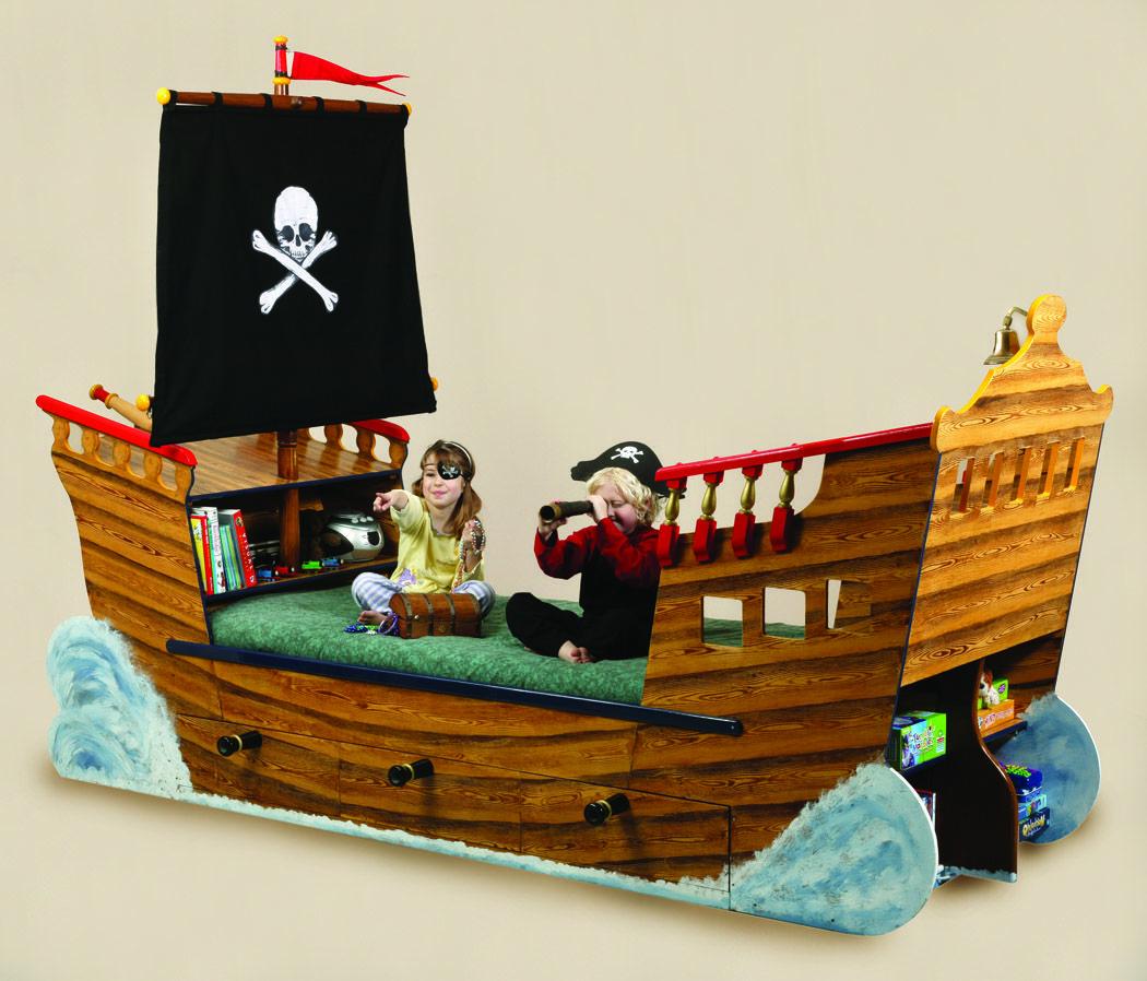 Disney Pirate Ship Bed Bedroom Beds Bedding