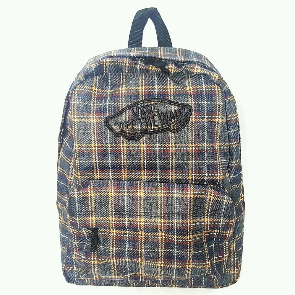 Vans Backpack With Patches 0c158170bbd29