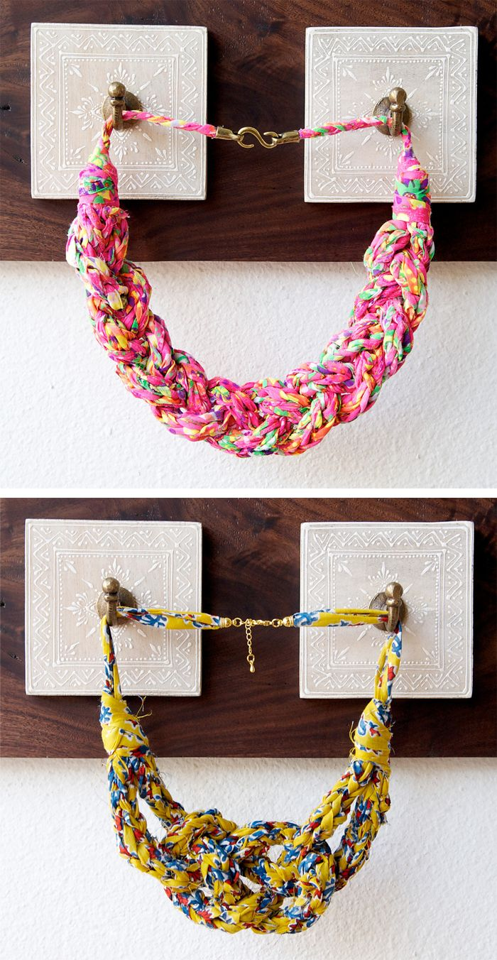One Day Knitting Projects | Fabric yarn, Cord and Yarns