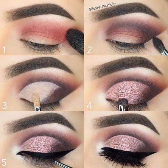 Easiest eye makeup tutorials