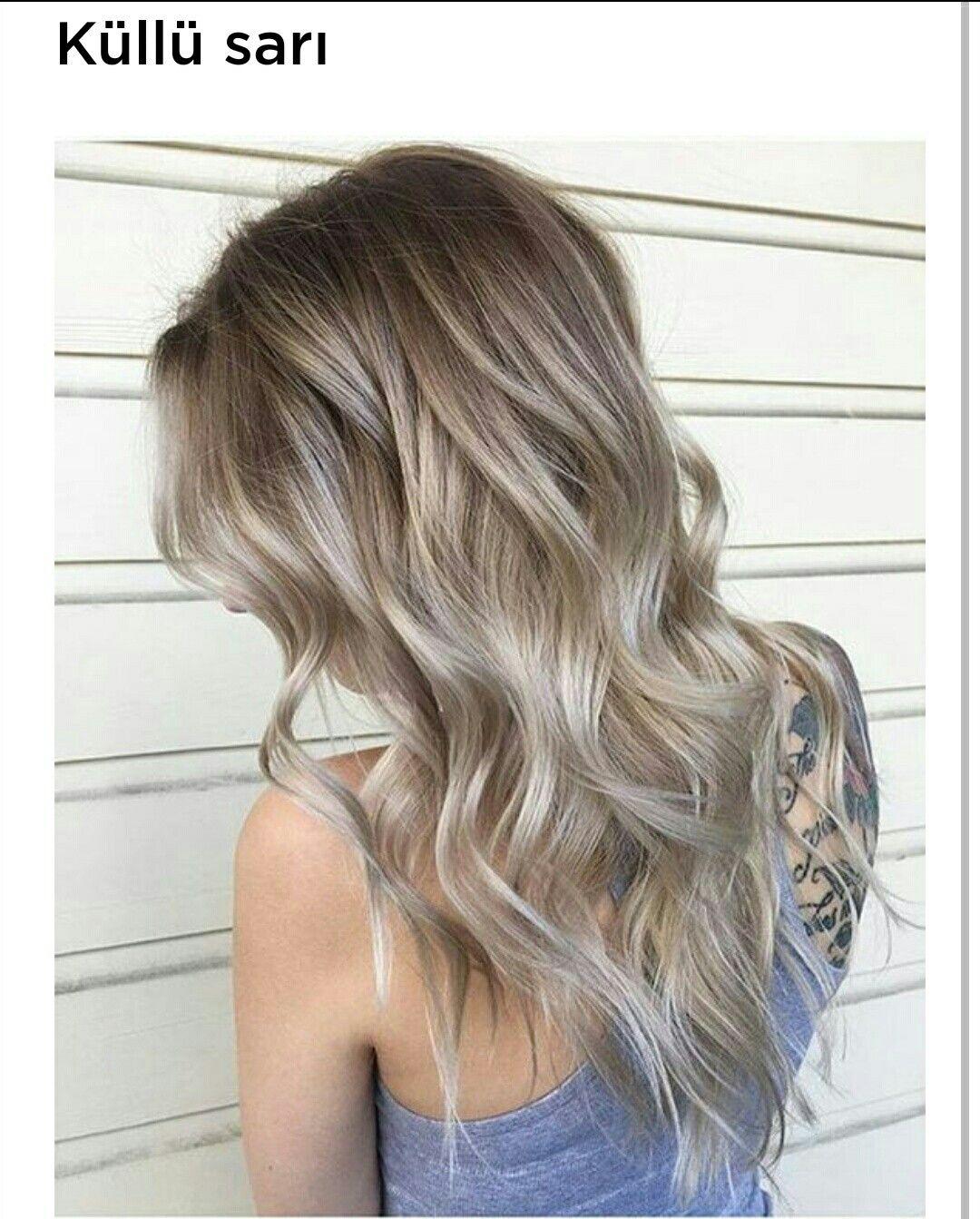 Blondhair Blond Hair Kullu Sari Balyaj Sac Sarisin Renkli Sari