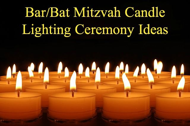 The Bar Mitzvah and Bat Mitzvah candle lighting ceremony can be a minefield if you do not plan it correctly.