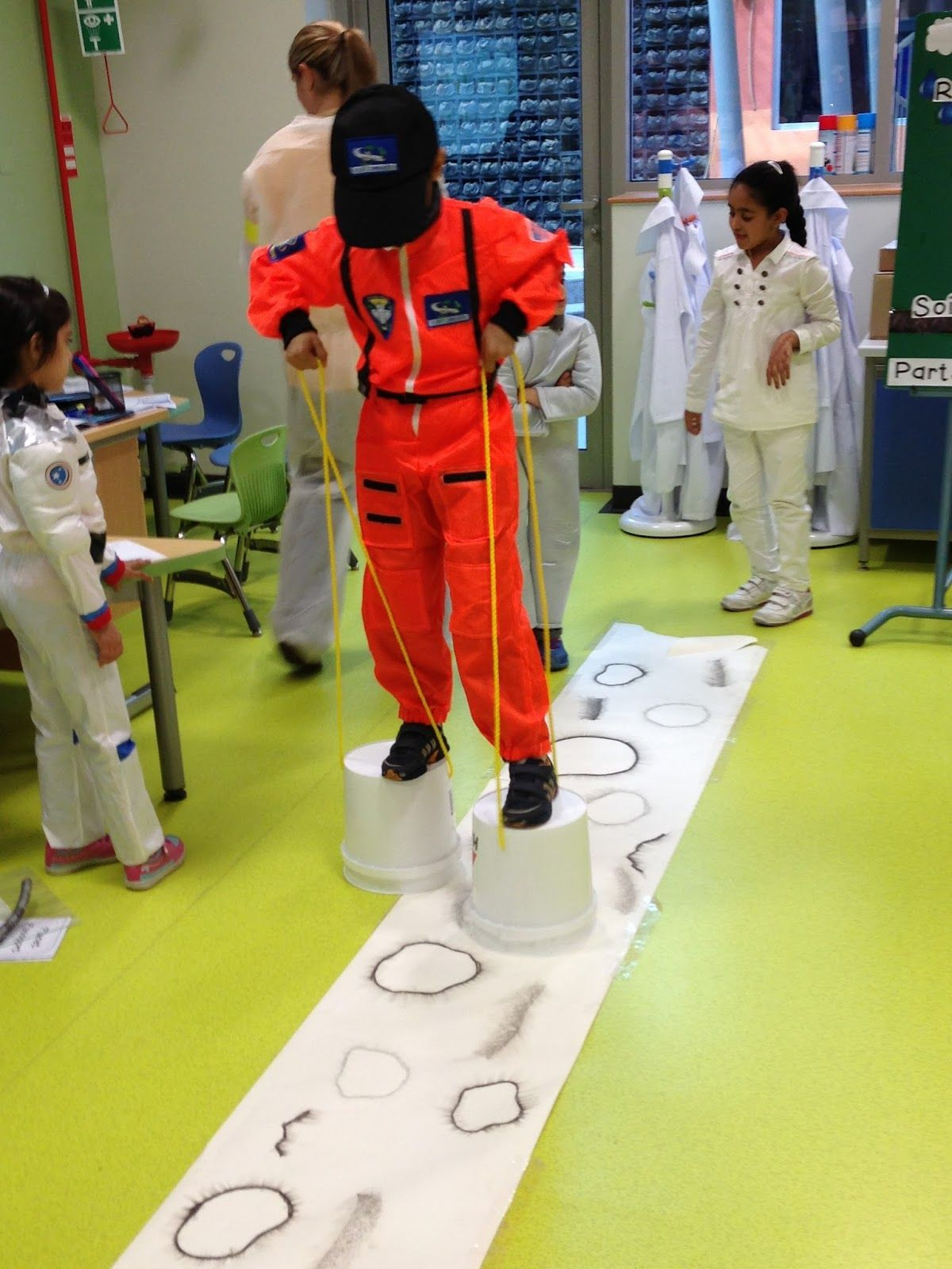 pletely Kindergarten Sublime Space Unit Walking on the Moon possibly Space Gallery activity