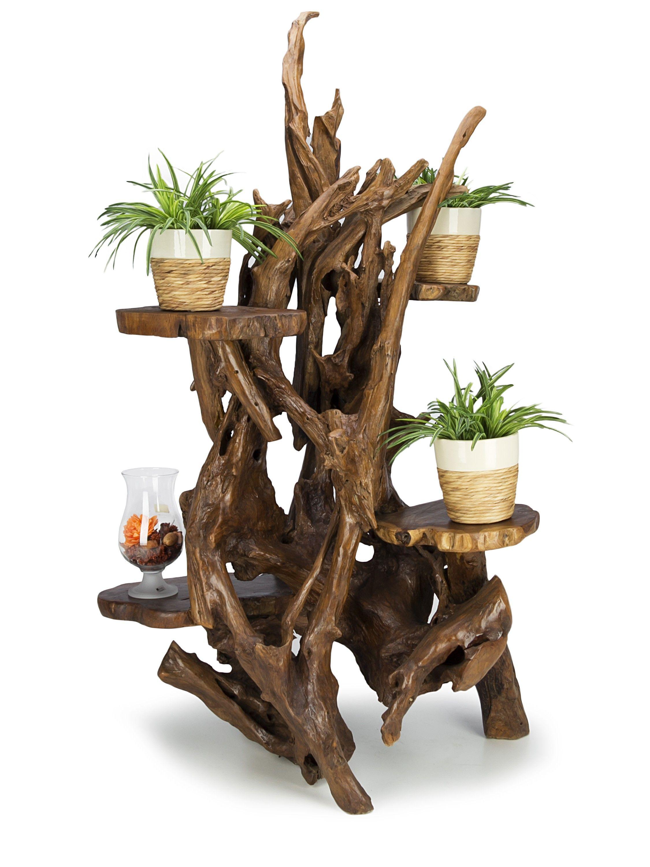 teakwurzel blumenst nder blumenst nder ampeln. Black Bedroom Furniture Sets. Home Design Ideas