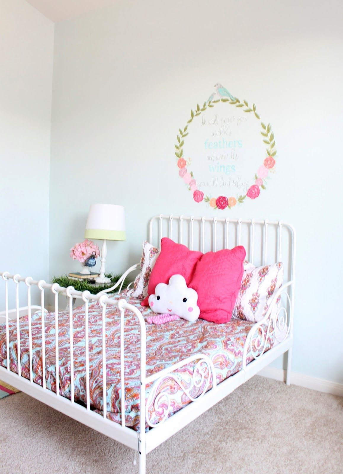 The Ragged Wren Girls Room MakeoverFinally