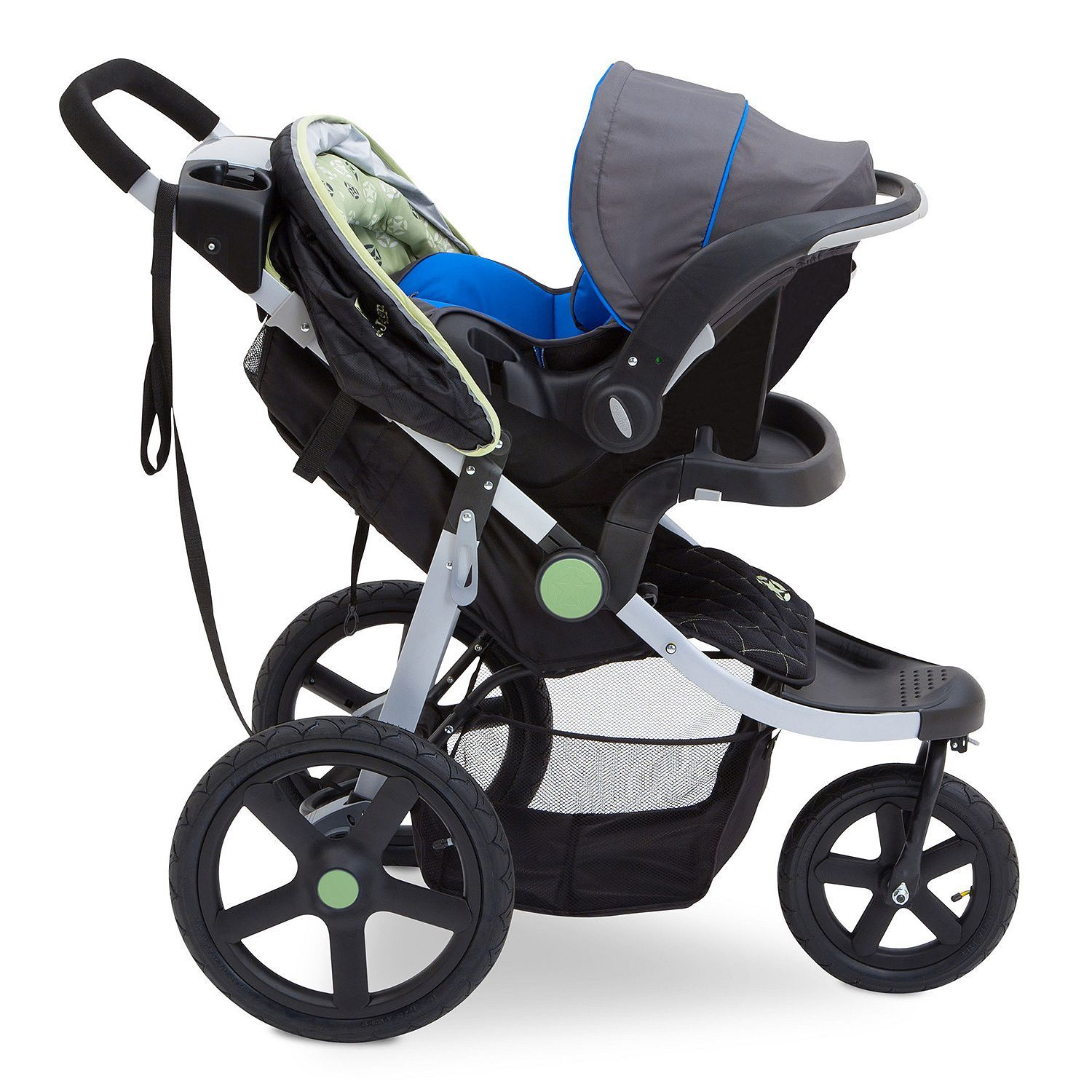J is for Jeep Brand Adventure AllTerrain Jogging Stroller