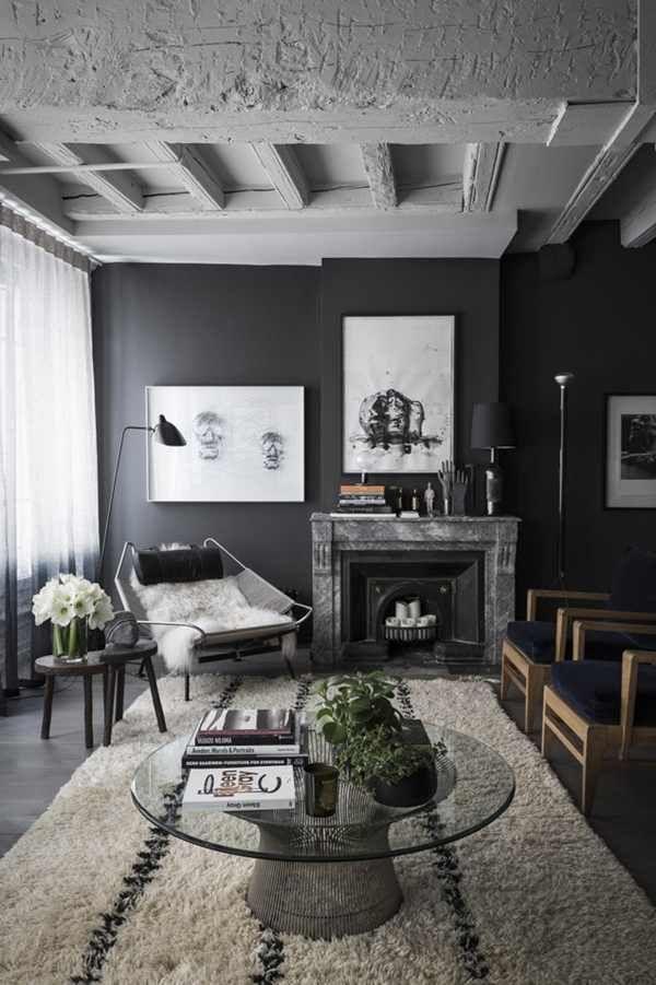 17 Best Male Living Space Remodel Design & Ideas  Masculine Impressive Top Living Room Designs 2018