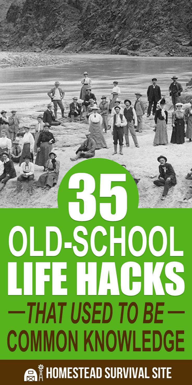 35 Old-School Life Hacks That Used to Be Common Knowledge