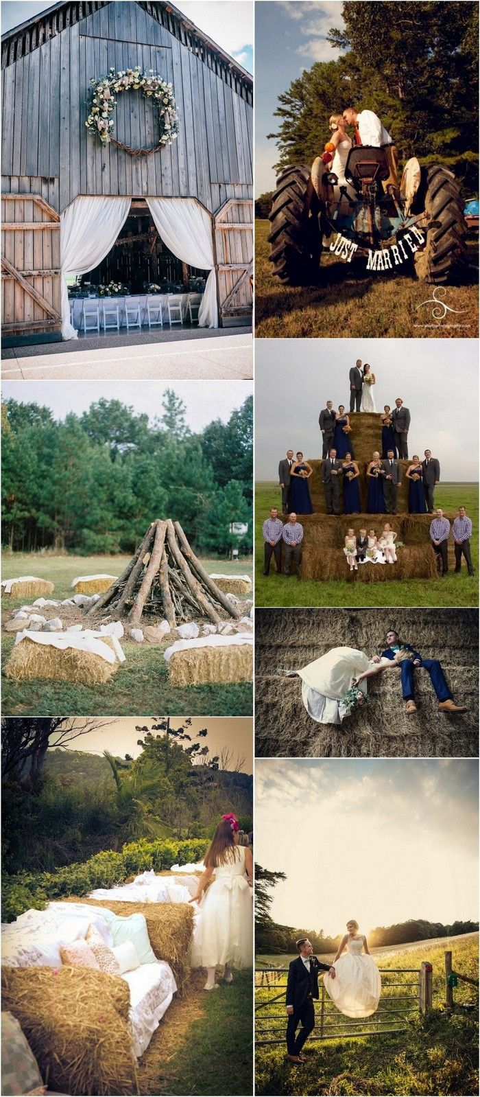 Wedding decorations tent october 2018 Trending Country Rustic Farm Wedding Ideas for   future