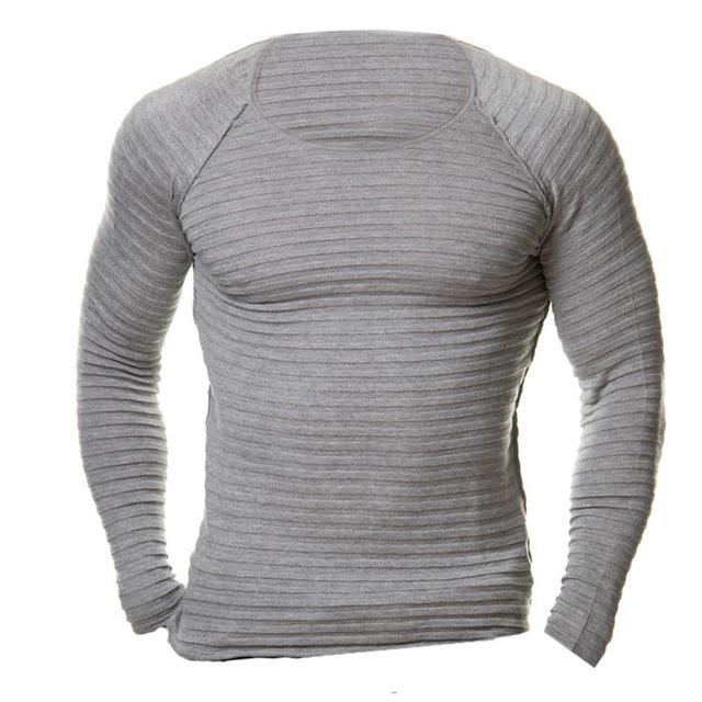2017 INCERUN Mens Fashion Muscle Pullover Slim Fit Tee T-Shirt Crew Neck Top  Long