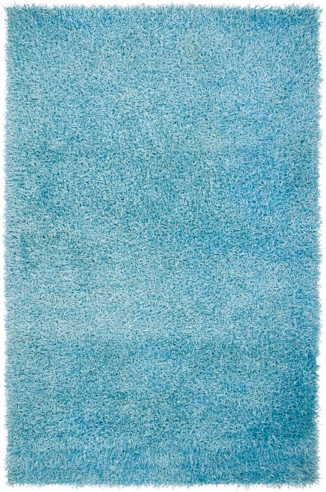 Orinduila Blue 1 Ft 9 Inch X 2 Ft 10 Inch Indoor Shag Rectangular Accent Rug Solid Area Rugs Area Rugs Shag Area Rug