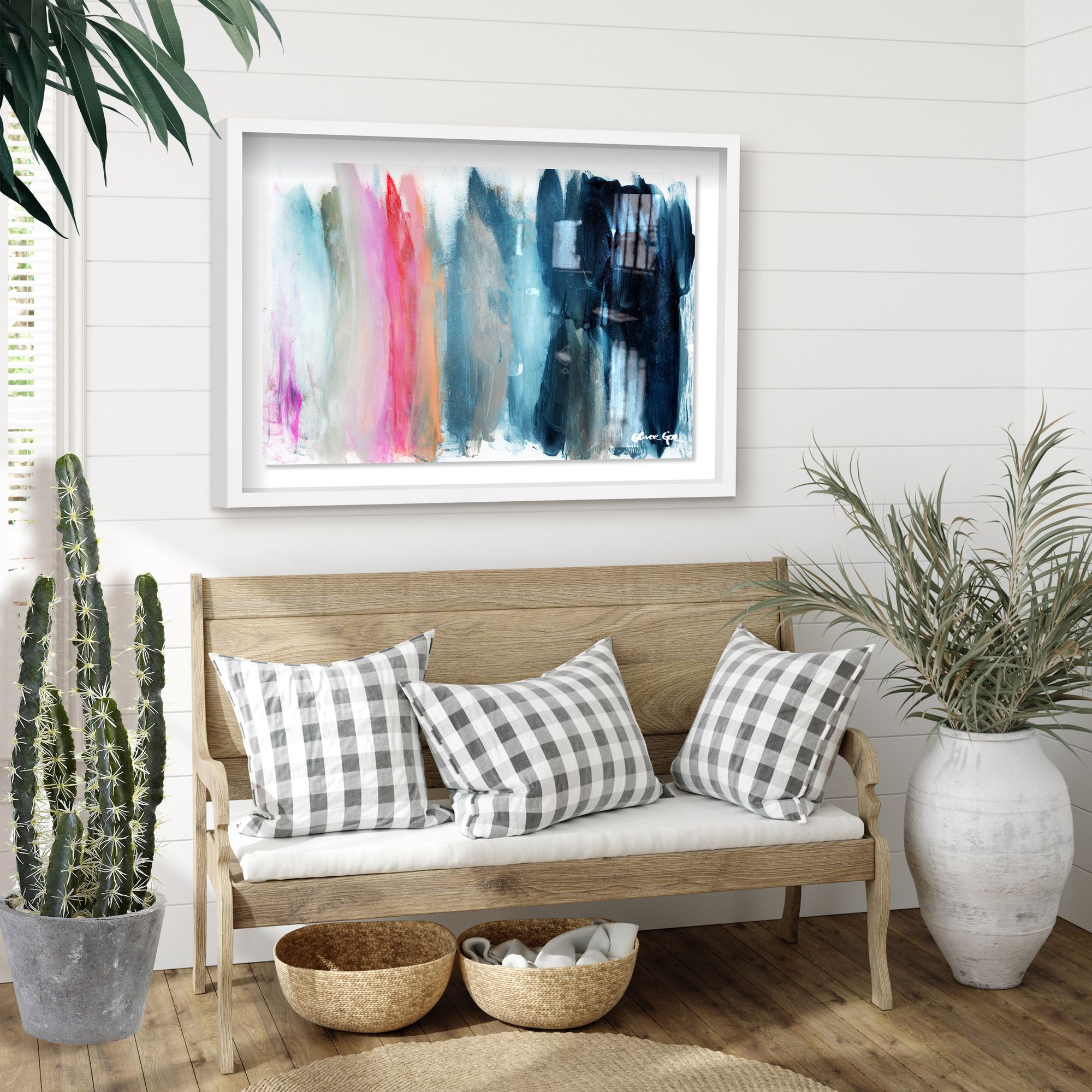 Pop Of Color Wall Art In 2020 Abstract Wall Art Home Decor Colorful Wall Art