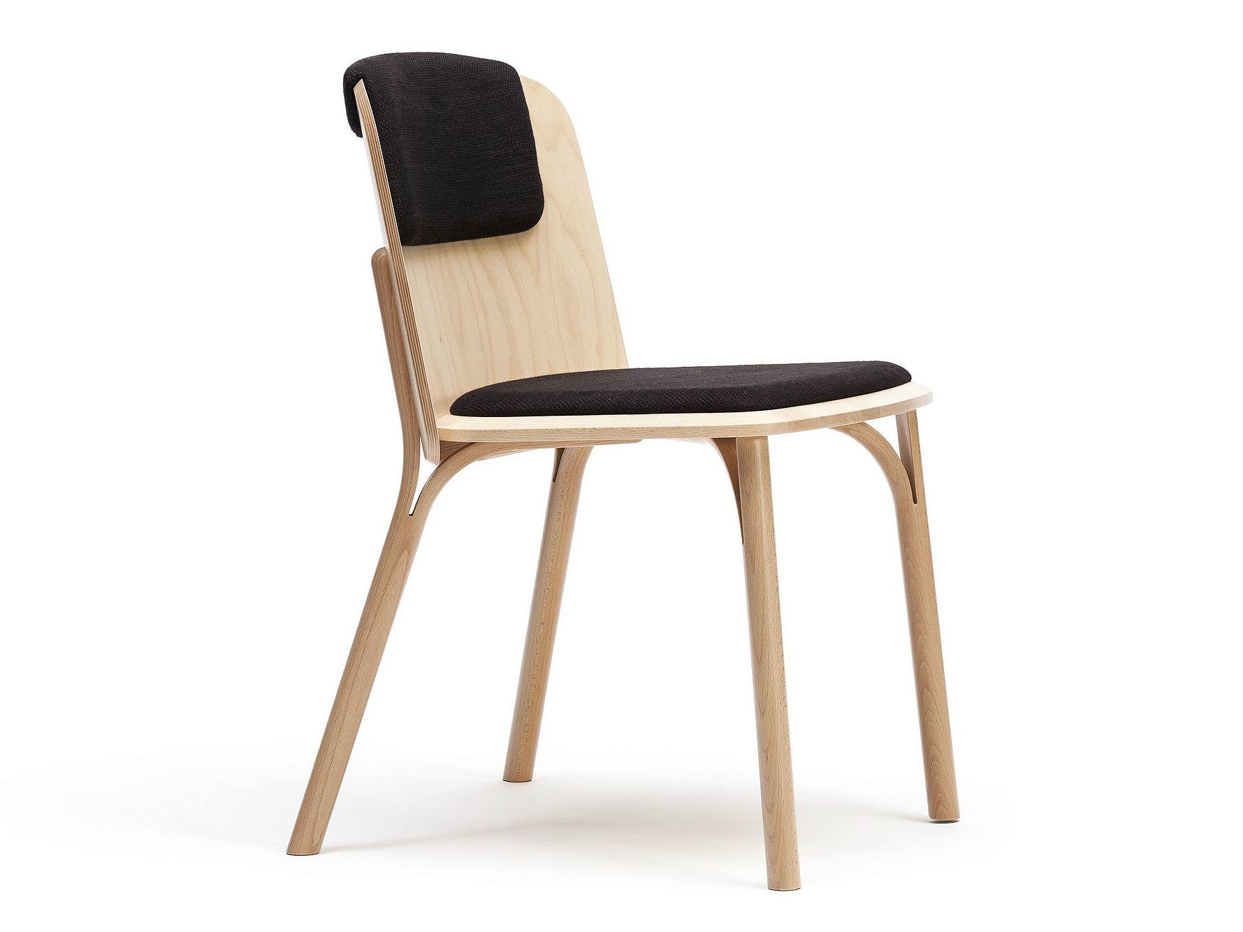Split Gepolsterter Stuhl By Ton Design Arik Levy ダイニングチェア 椅子 チェア