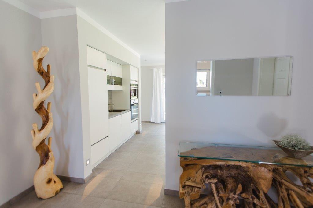 Garderobe Fertighaus FischerHaus #Haus #Fertighaus #Gaderobe #Holz #Deko # Modern #