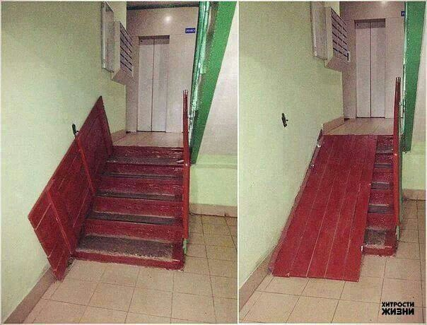 Stair ramp pinteres for Building a wheelchair accessible home