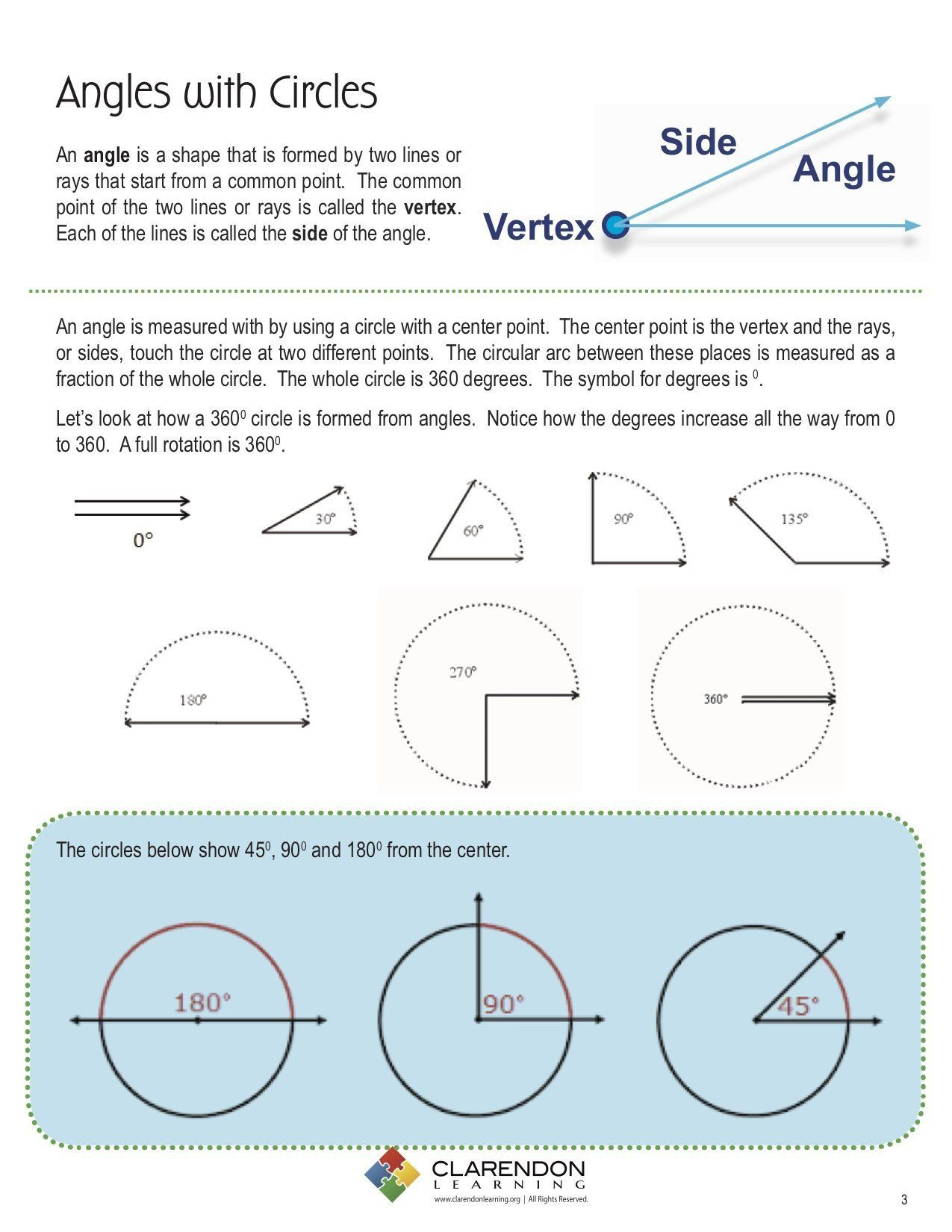 Angles In Circles Worksheet Angles With Circles In