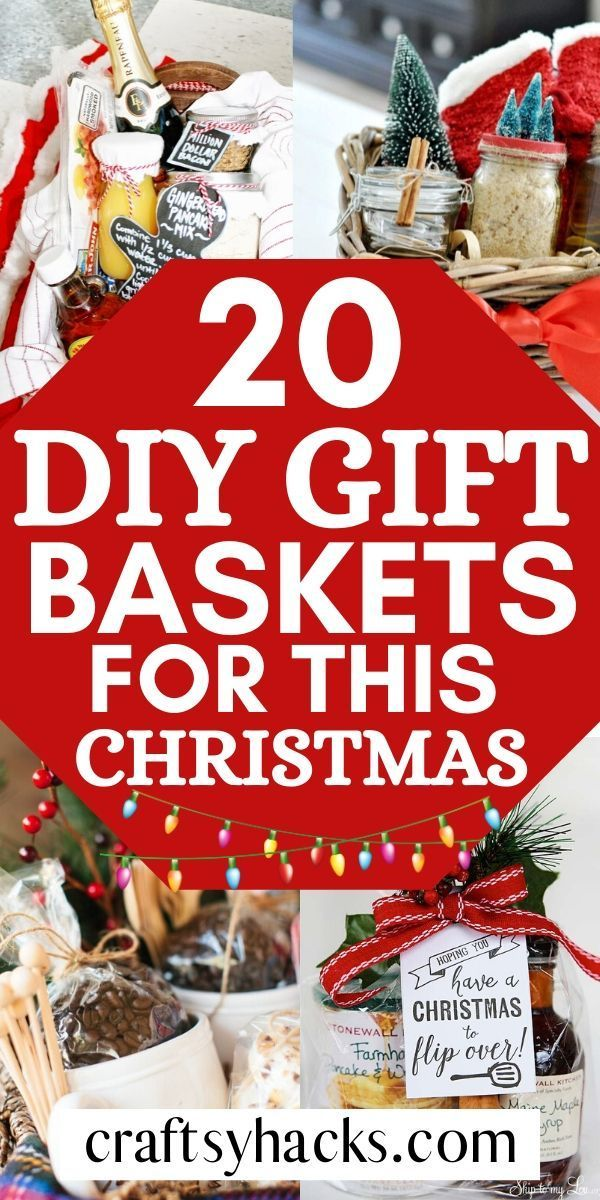20 DIY Gift Baskets for This Christmas