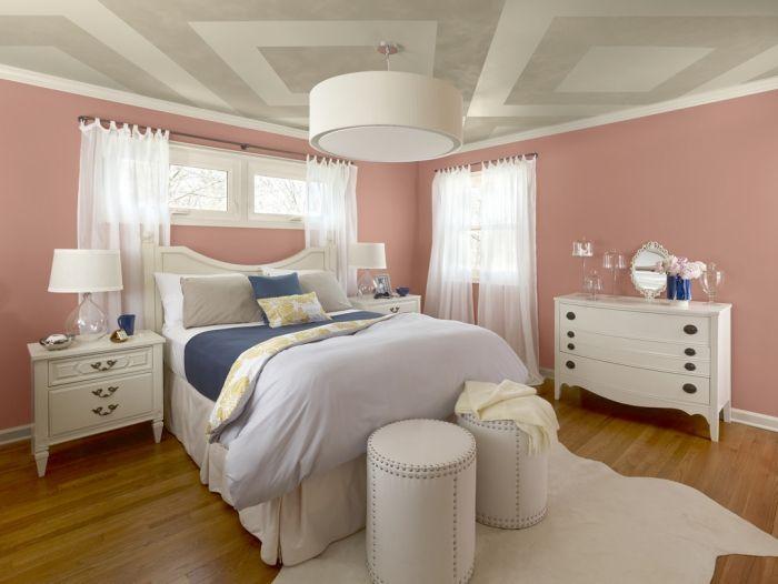 Ideen Zum Schlafzimmer Streichen \u2013 Tolle Techniken Bilder #bilder