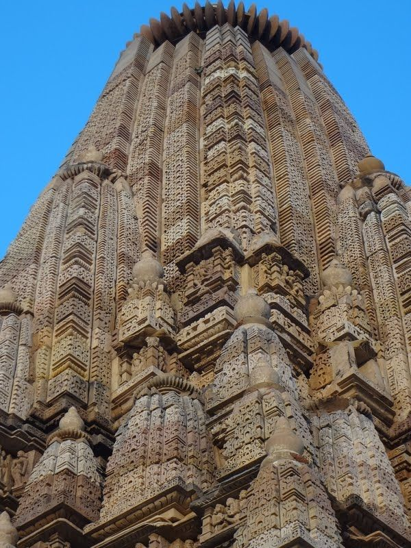 Templo  Jainista em Khajuraho/Índia.