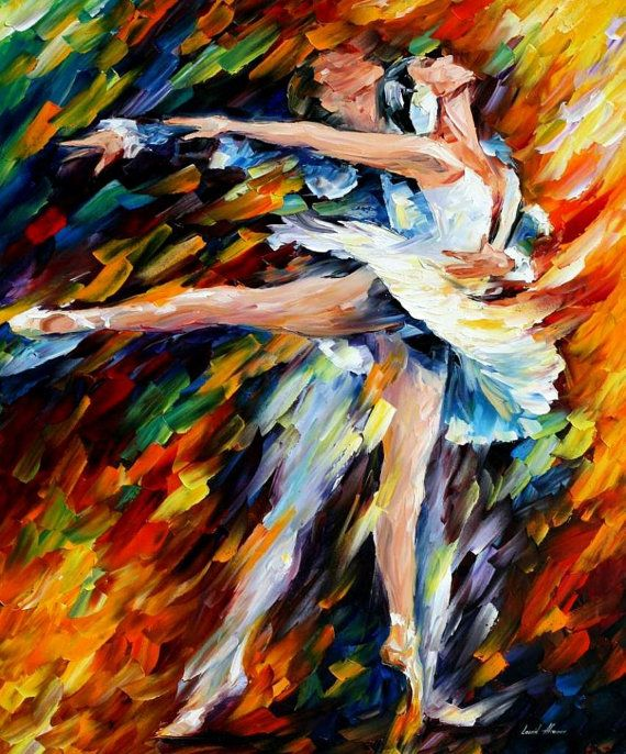 "Romeo and Juliet — PALETTE KNIFE Figure Oil Painting On Canvas By Leonid Afremov - Size: 30"" x 24"""