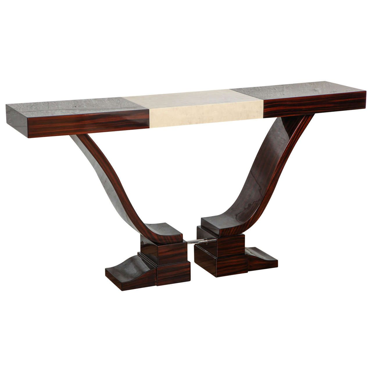 Elegant Art Deco Console Table From A Unique Collection Of