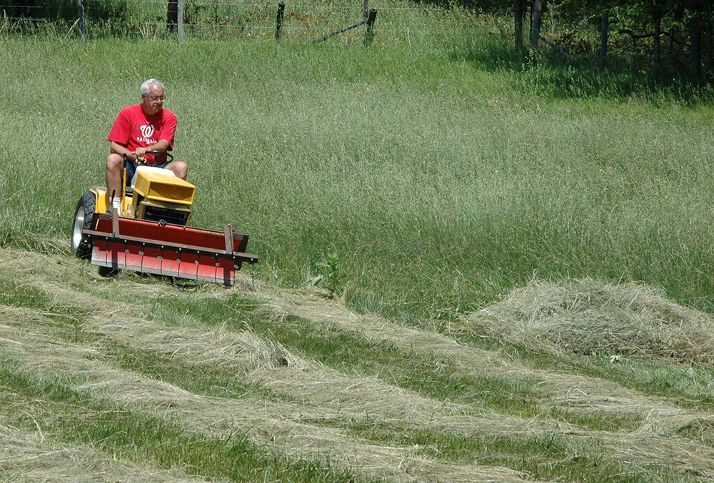 homemade hay rake for tractor - Google Search | homemade tools