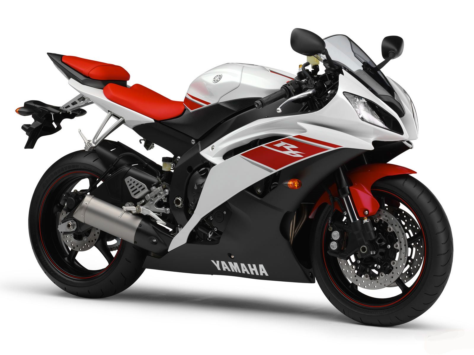 Black Red White Yamaha Bike Http Www Gbwallpapers Com Black