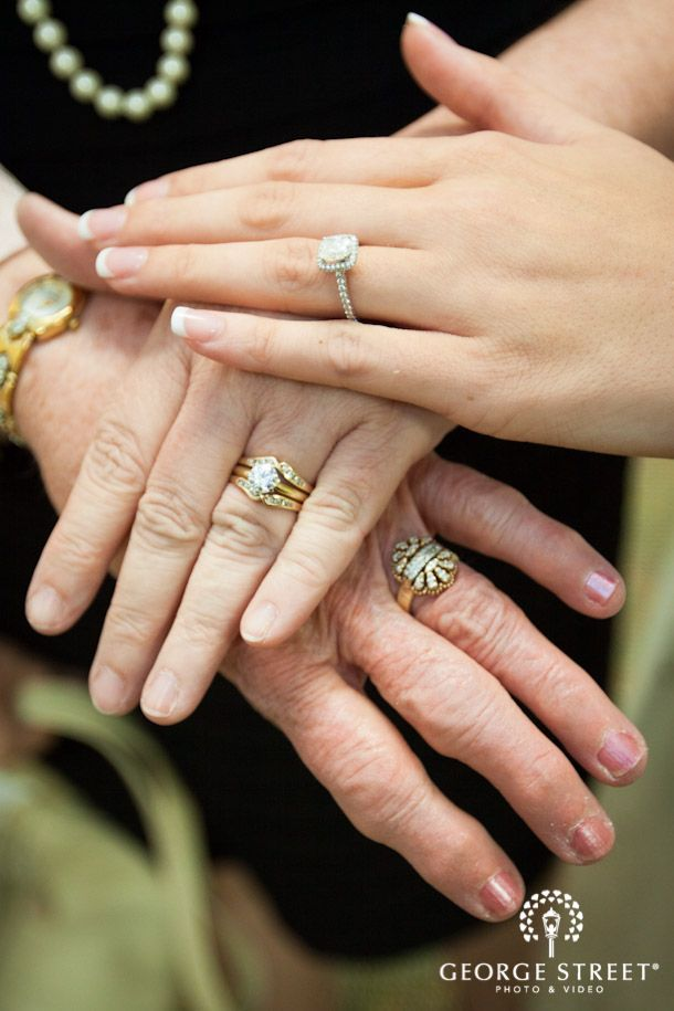 Details We Love Three Generation Ring Shot 2015 Wedding Trends